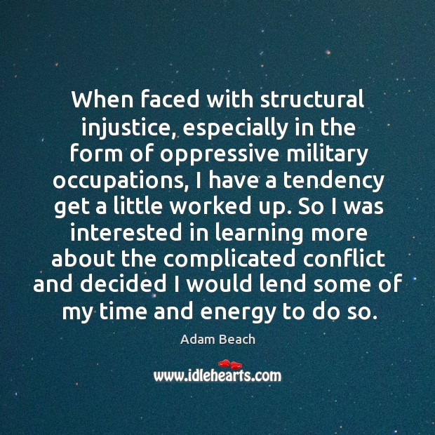 Image, When faced with structural injustice, especially in the form of oppressive military