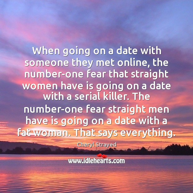When going on a date with someone they met online, the number-one Image