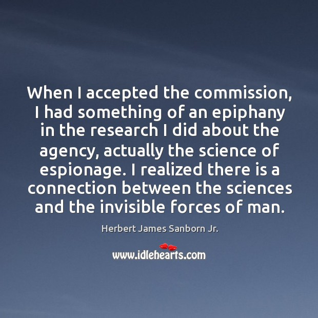 When I accepted the commission, I had something of an epiphany in the research I did about Image