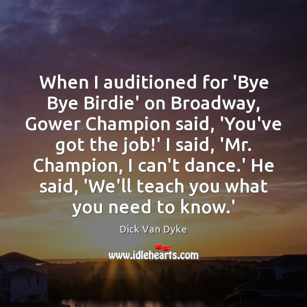 Bye bye birdie dick van dyke