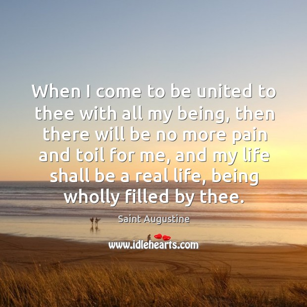 When I come to be united to thee with all my being, Image