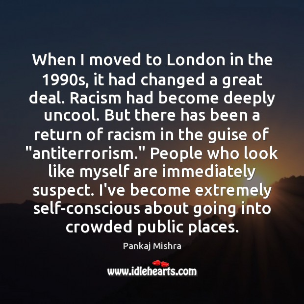 When I moved to London in the 1990s, it had changed a Image