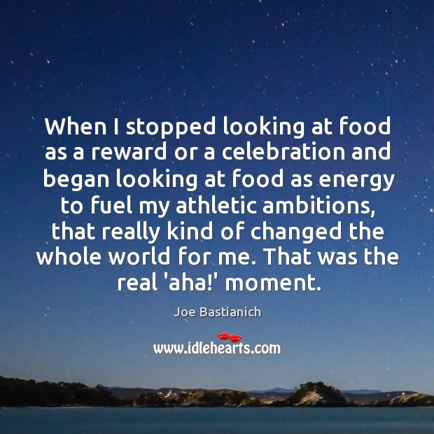 Image, When I stopped looking at food as a reward or a celebration