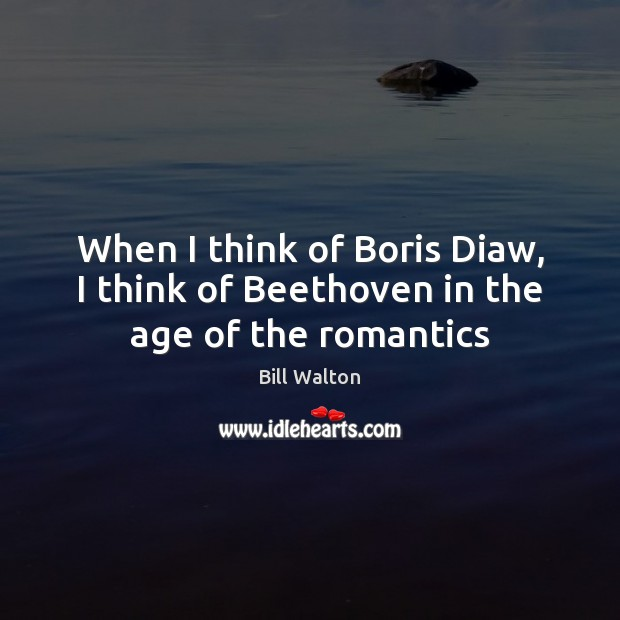 When I think of Boris Diaw, I think of Beethoven in the age of the romantics Image