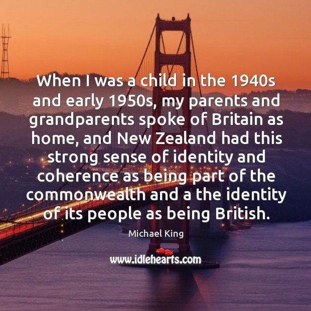 When I was a child in the 1940s and early 1950s, my parents and grandparents spoke Image