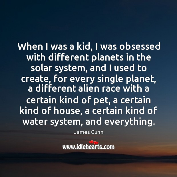 When I was a kid, I was obsessed with different planets in Image