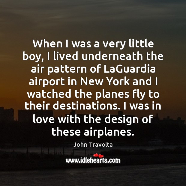 Image, When I was a very little boy, I lived underneath the air