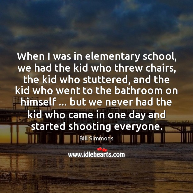 When I was in elementary school, we had the kid who threw Image