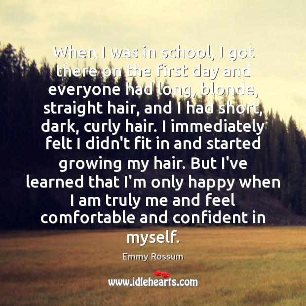 When I was in school, I got there on the first day Image