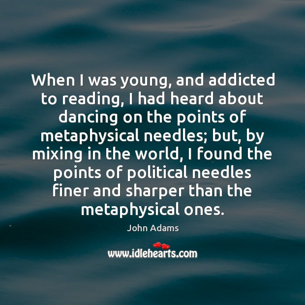 When I was young, and addicted to reading, I had heard about Image