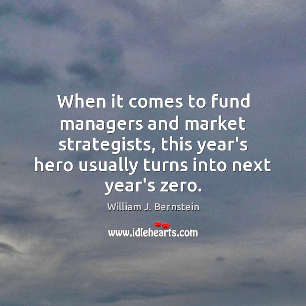 Image, When it comes to fund managers and market strategists, this year's hero