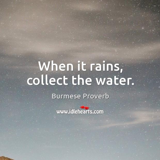 Burmese Proverbs