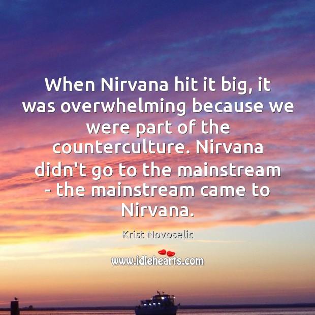 Picture Quote by Krist Novoselic