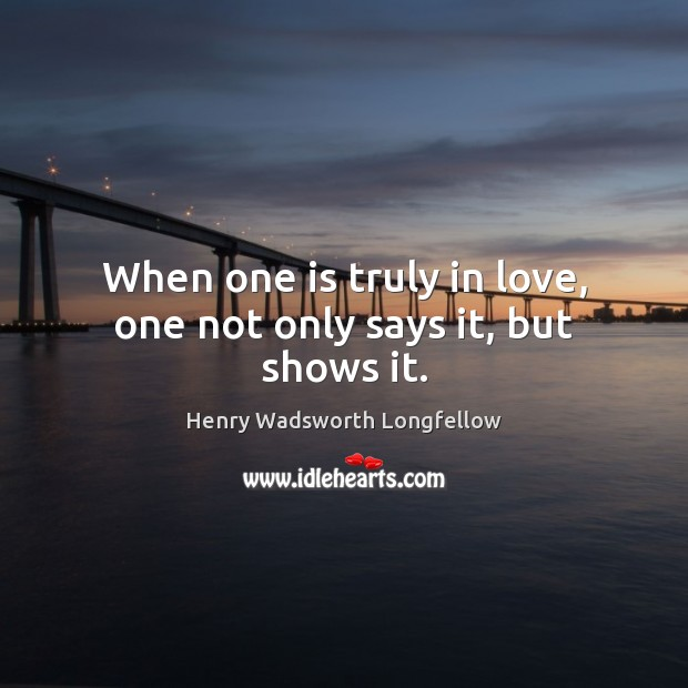 Image, When one is truly in love, one not only says it, but shows it.