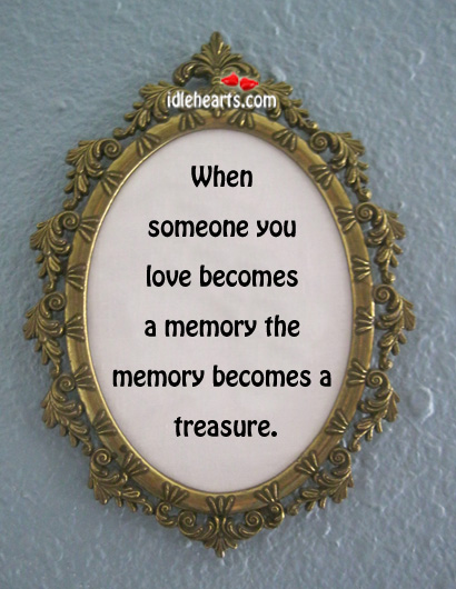 When Someone You Love Becomes A….