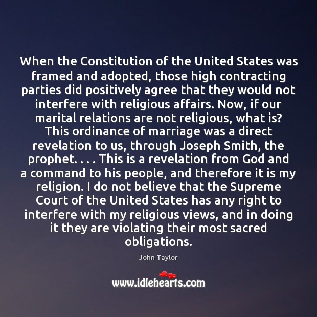 When the Constitution of the United States was framed and adopted, those Image