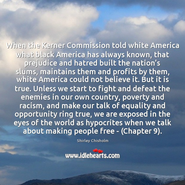 When the Kerner Commission told white America what black America has always Image