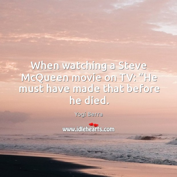 Picture Quote by Yogi Berra