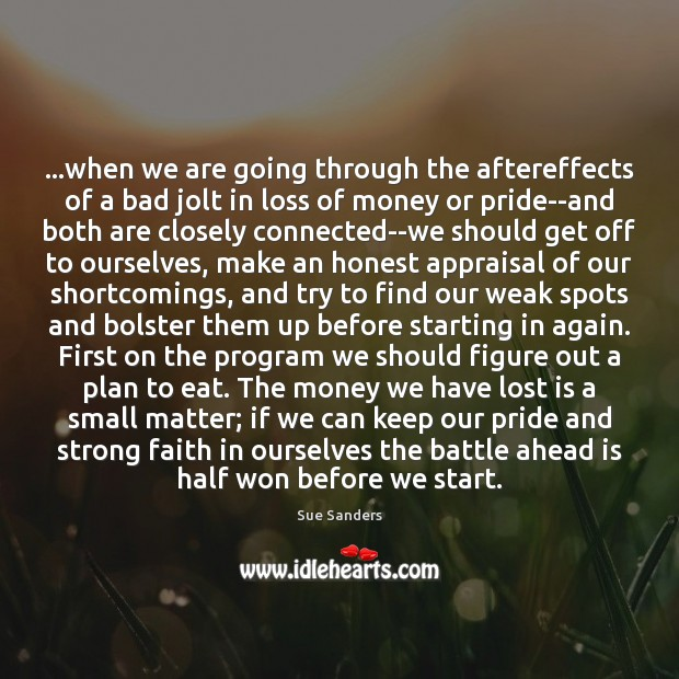 …when we are going through the aftereffects of a bad jolt in Plan Quotes Image