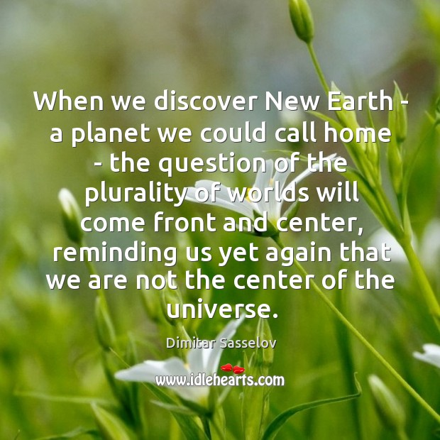 When we discover New Earth – a planet we could call home Image