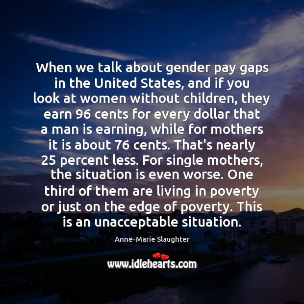 Image, When we talk about gender pay gaps in the United States, and