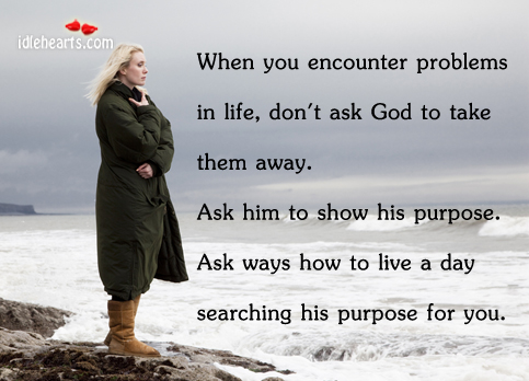 When You Encounter Problems In Life, Don't…