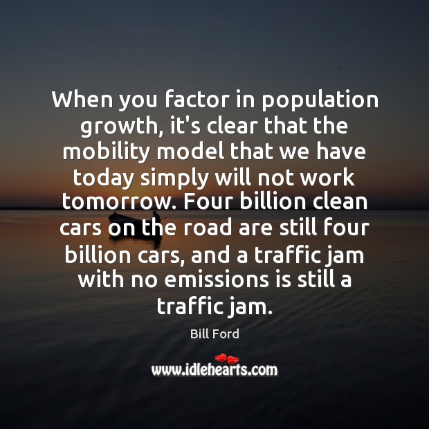Image, When you factor in population growth, it's clear that the mobility model