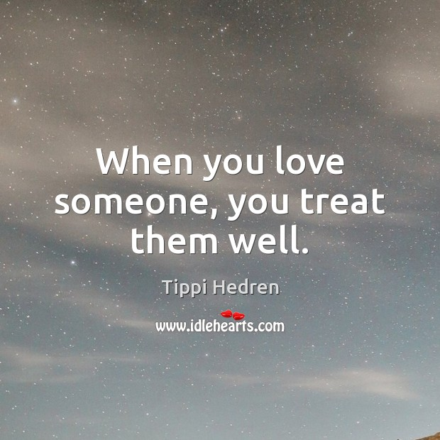 Picture Quote by Tippi Hedren