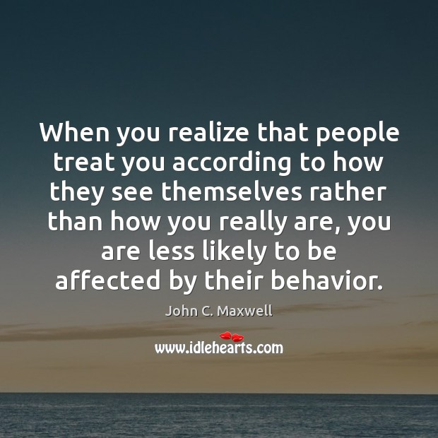 Image, When you realize that people treat you according to how they see