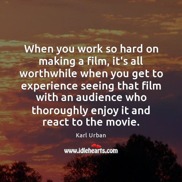 Picture Quote by Karl Urban