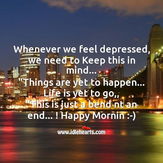 Whenever we feel depressed Image