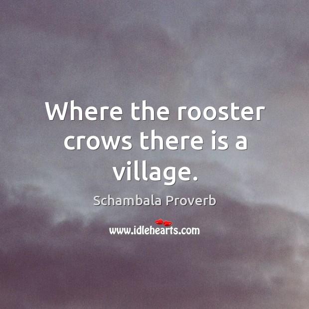 Schambala Proverbs