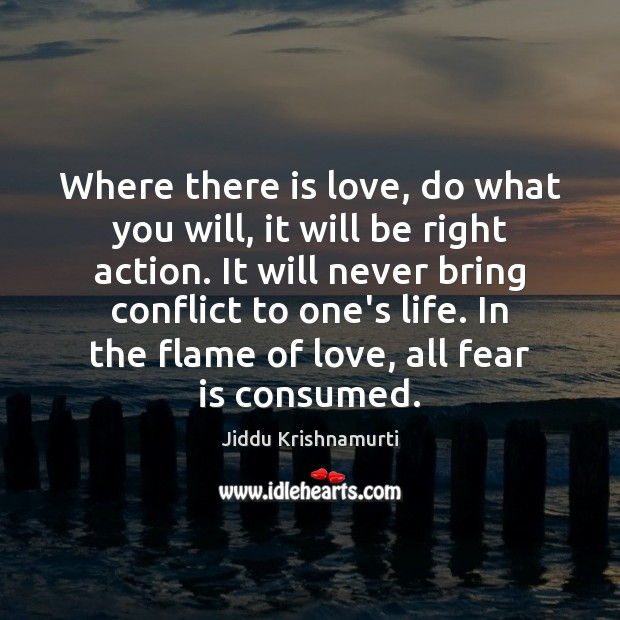 Picture Quote by Jiddu Krishnamurti