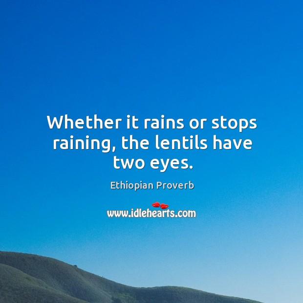 Ethiopian Proverb Image