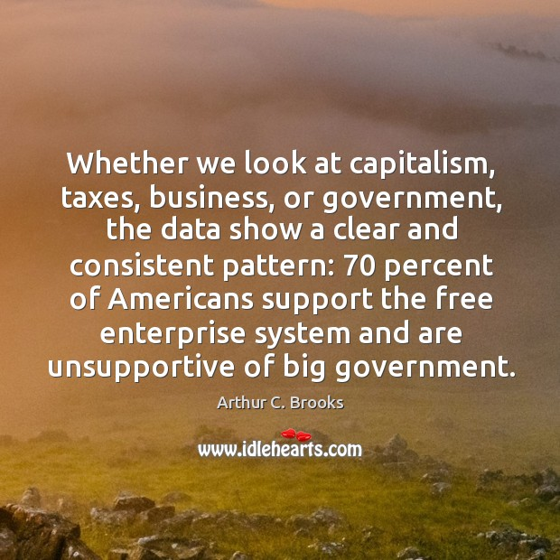 Image, Whether we look at capitalism, taxes, business, or government, the data show a clear and consistent pattern: