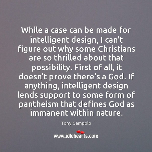 While a case can be made for intelligent design, I can't figure Image