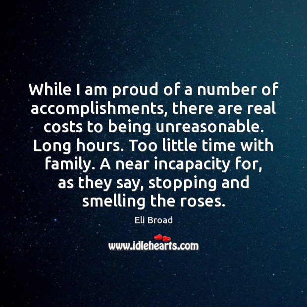 While I am proud of a number of accomplishments, there are real Image