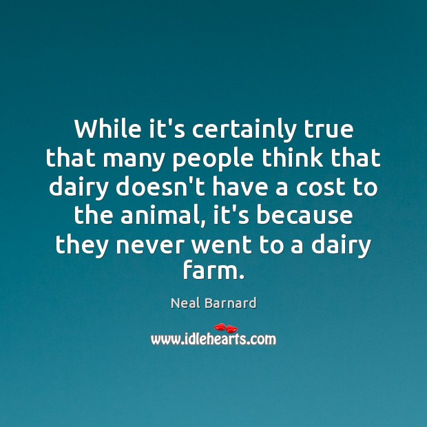 While it's certainly true that many people think that dairy doesn't have Image