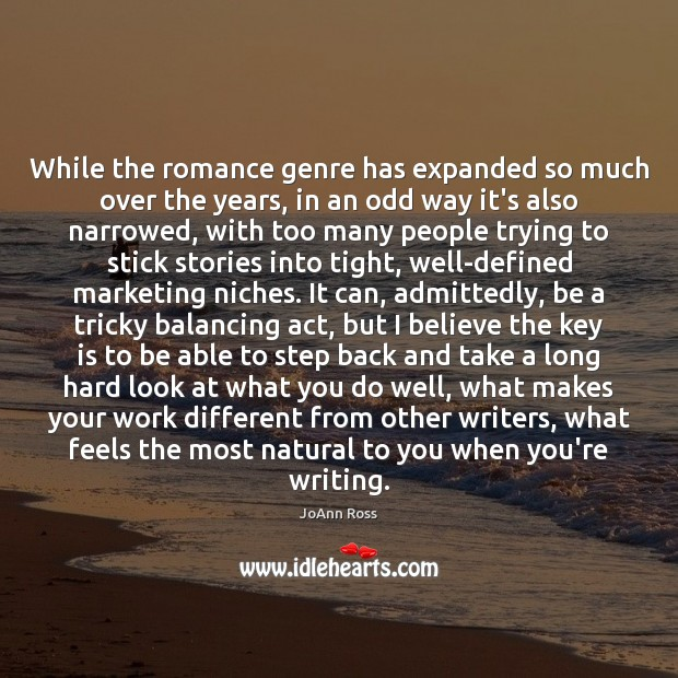 Image, While the romance genre has expanded so much over the years, in
