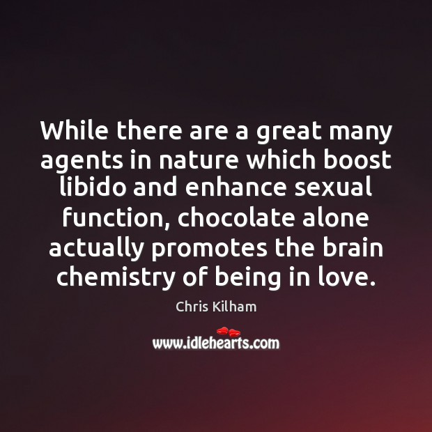While there are a great many agents in nature which boost libido Image