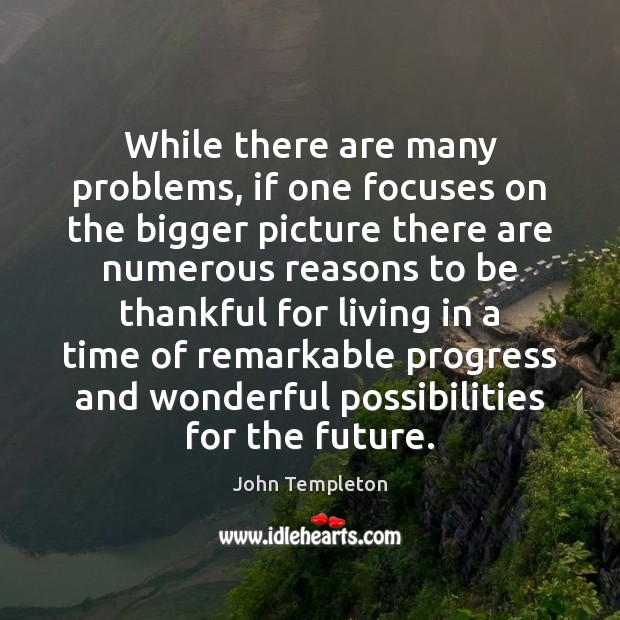 While there are many problems, if one focuses on the bigger picture Image