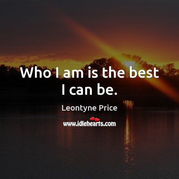 Picture Quote by Leontyne Price