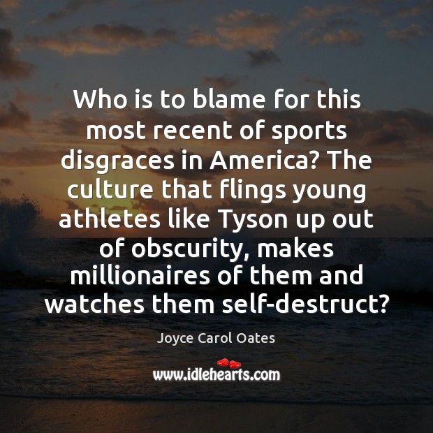 who to blame for the american