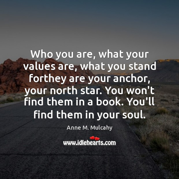 Image, Who you are, what your values are, what you stand forthey are