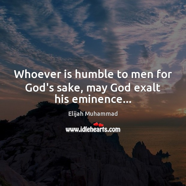 Picture Quote by Elijah Muhammad