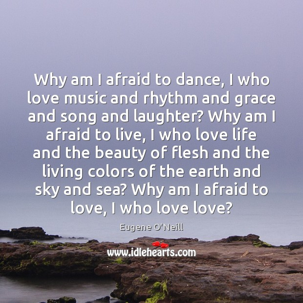 Why am I afraid to dance, I who love music and rhythm Image