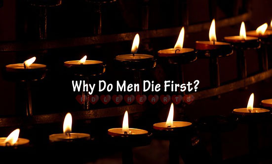 Image, Why do men die first?