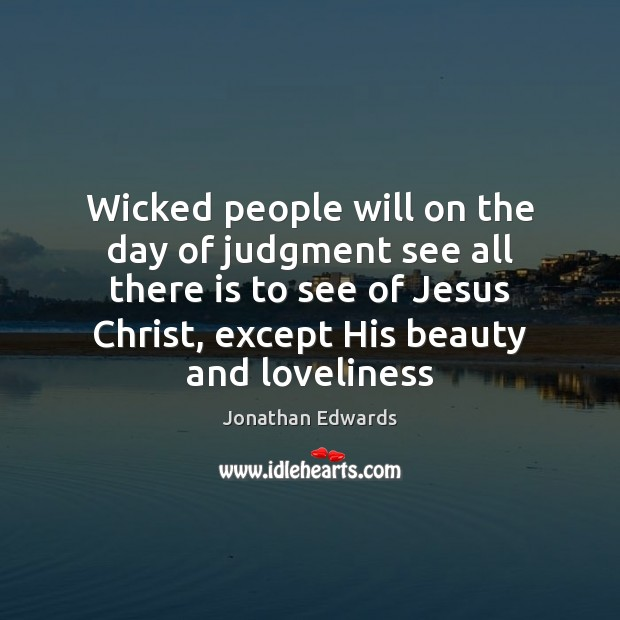 Wicked people will on the day of judgment see all there is Image