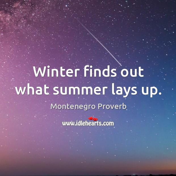 Montenegro Proverbs