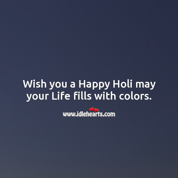 Image, Wish you a happy holi